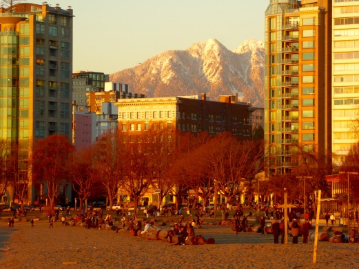 Vancouver Winter evening