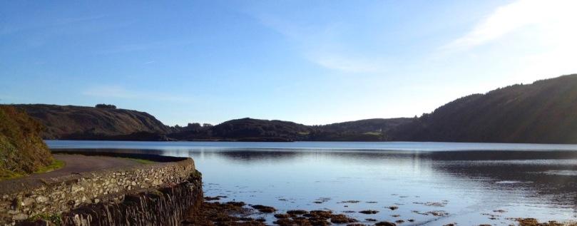 Lough Hyne panorama