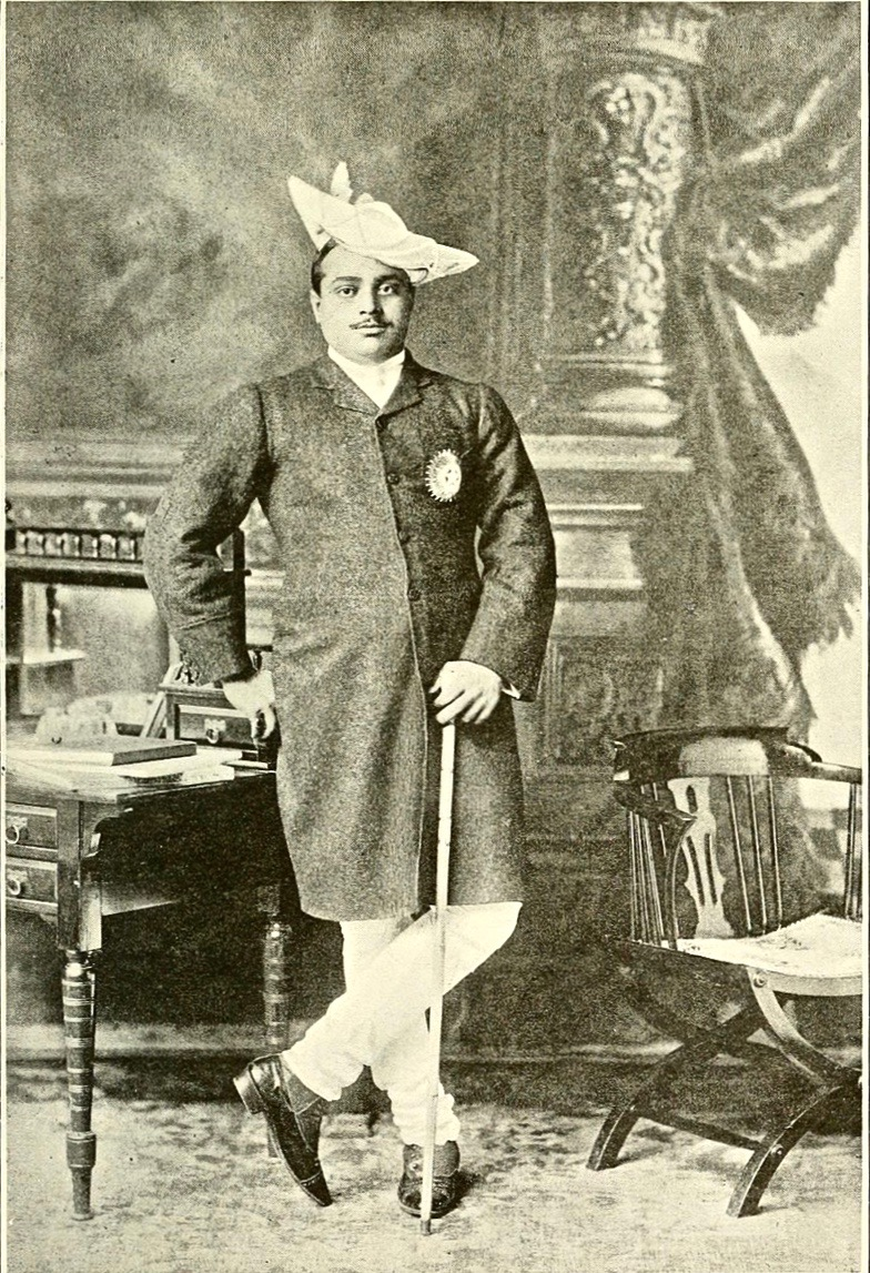 Maharaja of Gwalior, India, 1907