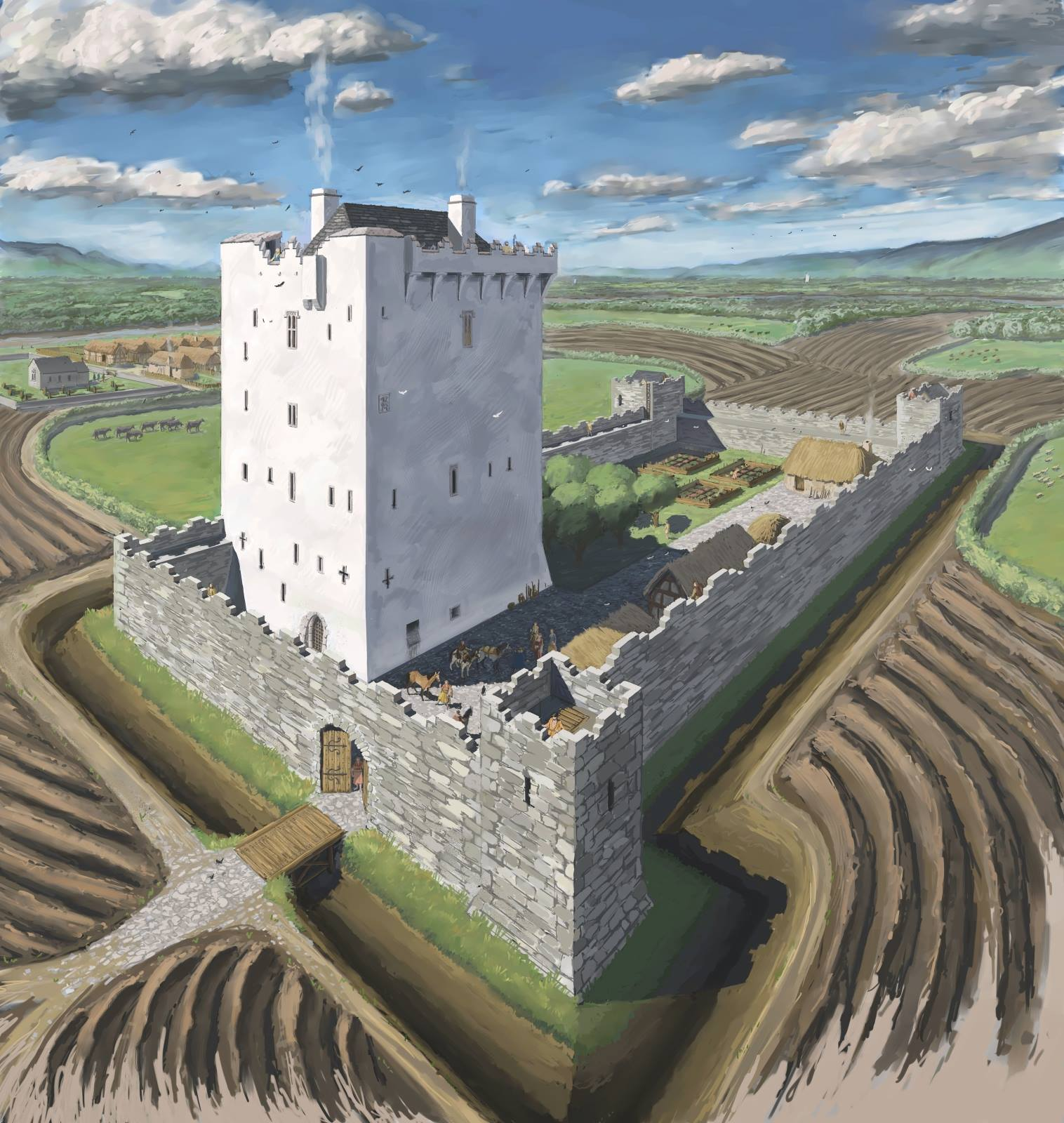 Illustrating The Tower House A Guest Blog Sort Of