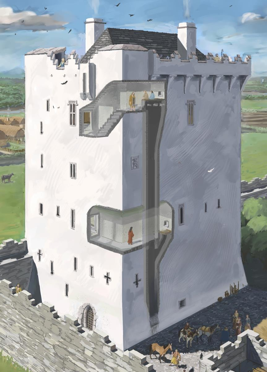Tower House Garderobes