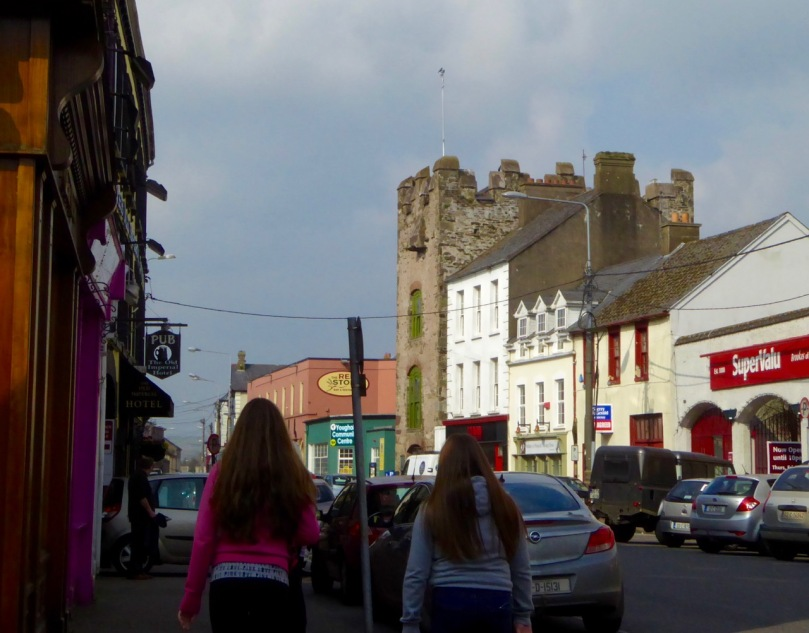 Tynte's Castle streetscape