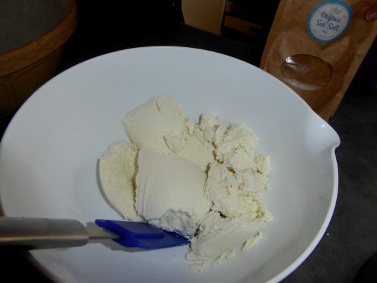 Creamy goats cheese