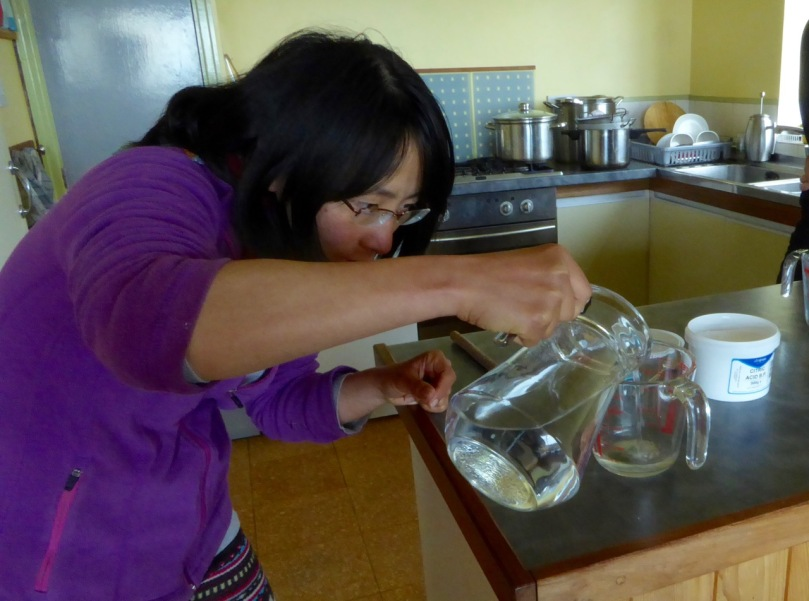 Diluting the citric acid