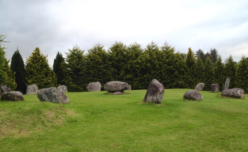Kenmare Stone Circle and boulder burial