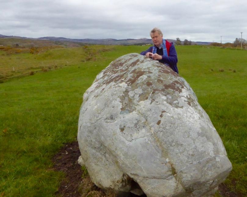 Rathruane boulder Burial Orientation