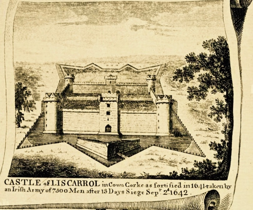 Liscarrol Castle drawing