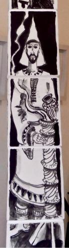 egyptian from obelisk