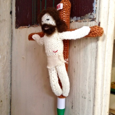 knitted Jesus