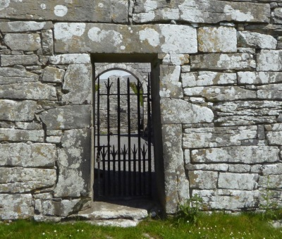 Oughtmama locked gate