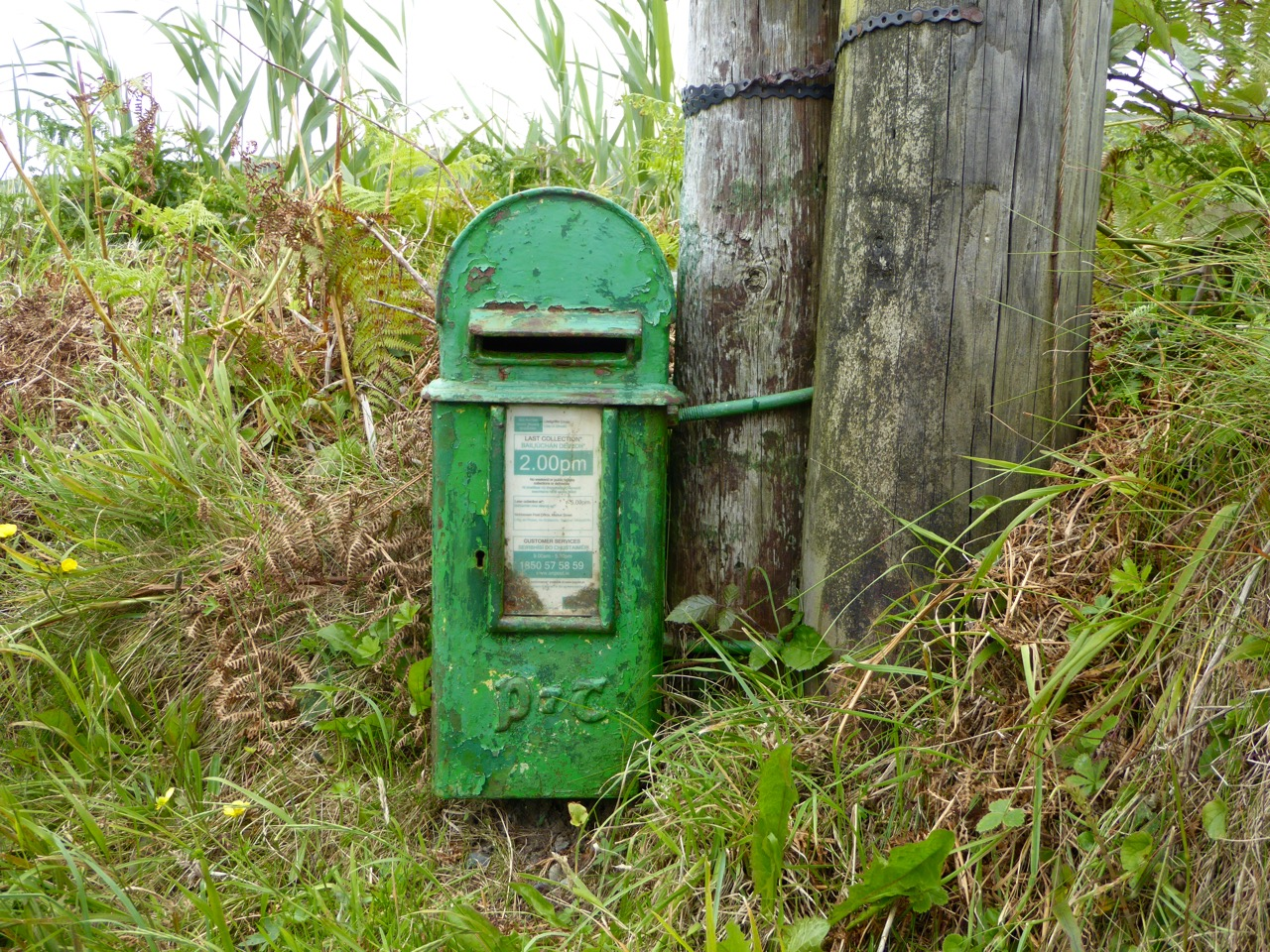 Pole Box near Barley Cove