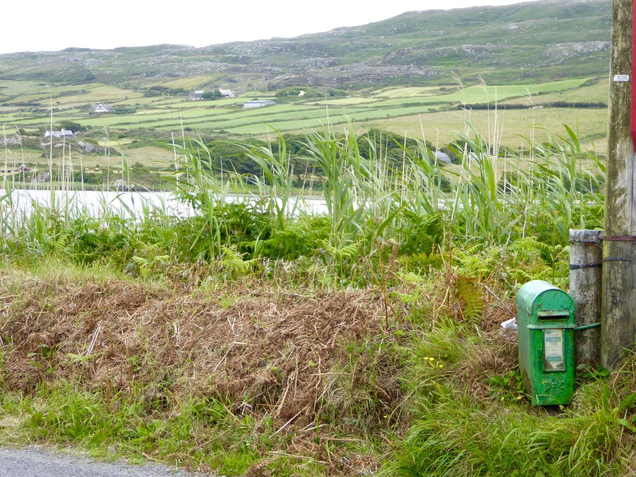 Post box near Barleycove