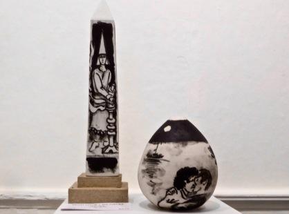 two exhibits