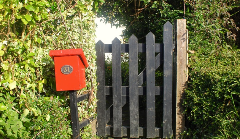 Gate and Post Box