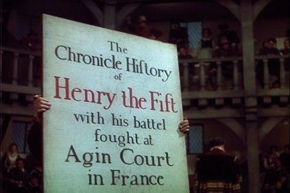globe poster henry v