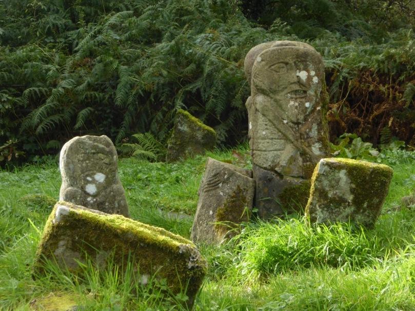 Boa Island figures