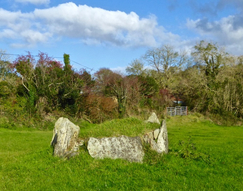 Five stone circle