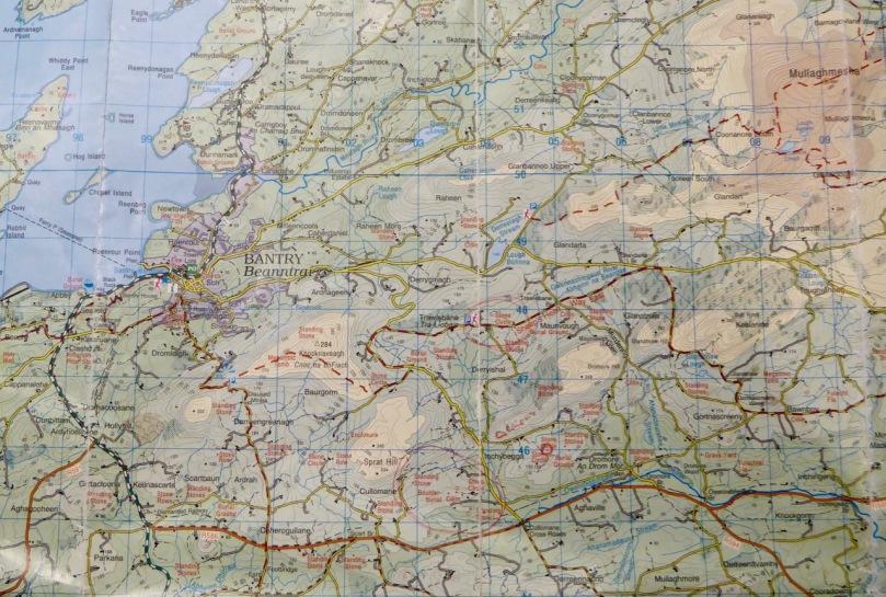 Murdering Glen Map