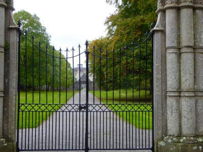Portumna Castle, entrance