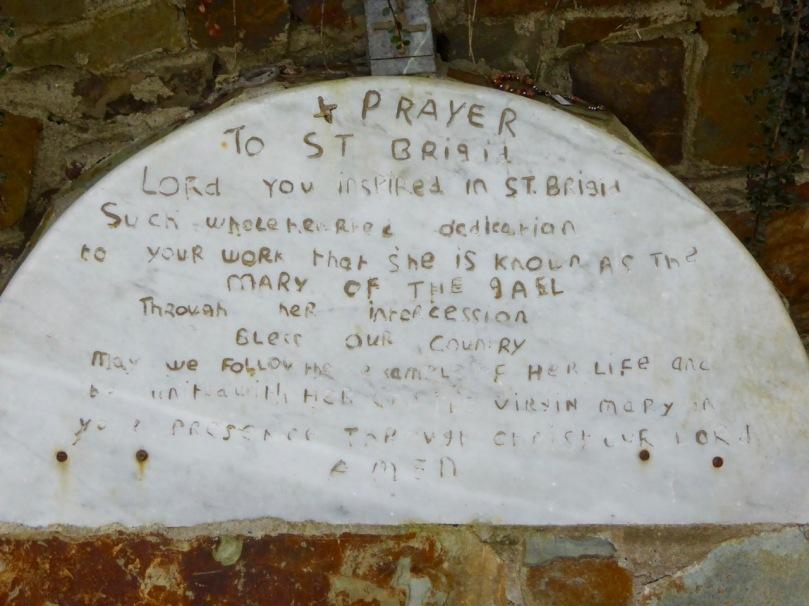 Brigid's Well, prayer
