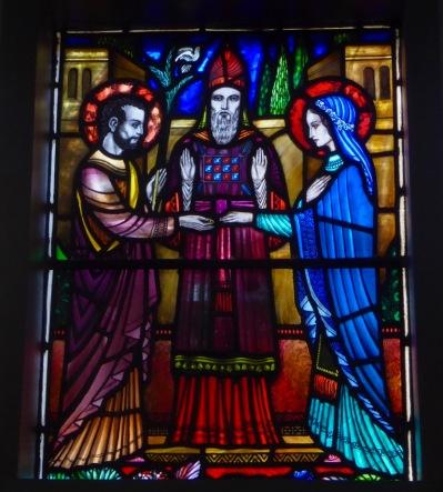 Church of the Annunciation, Cork. Bethrothal
