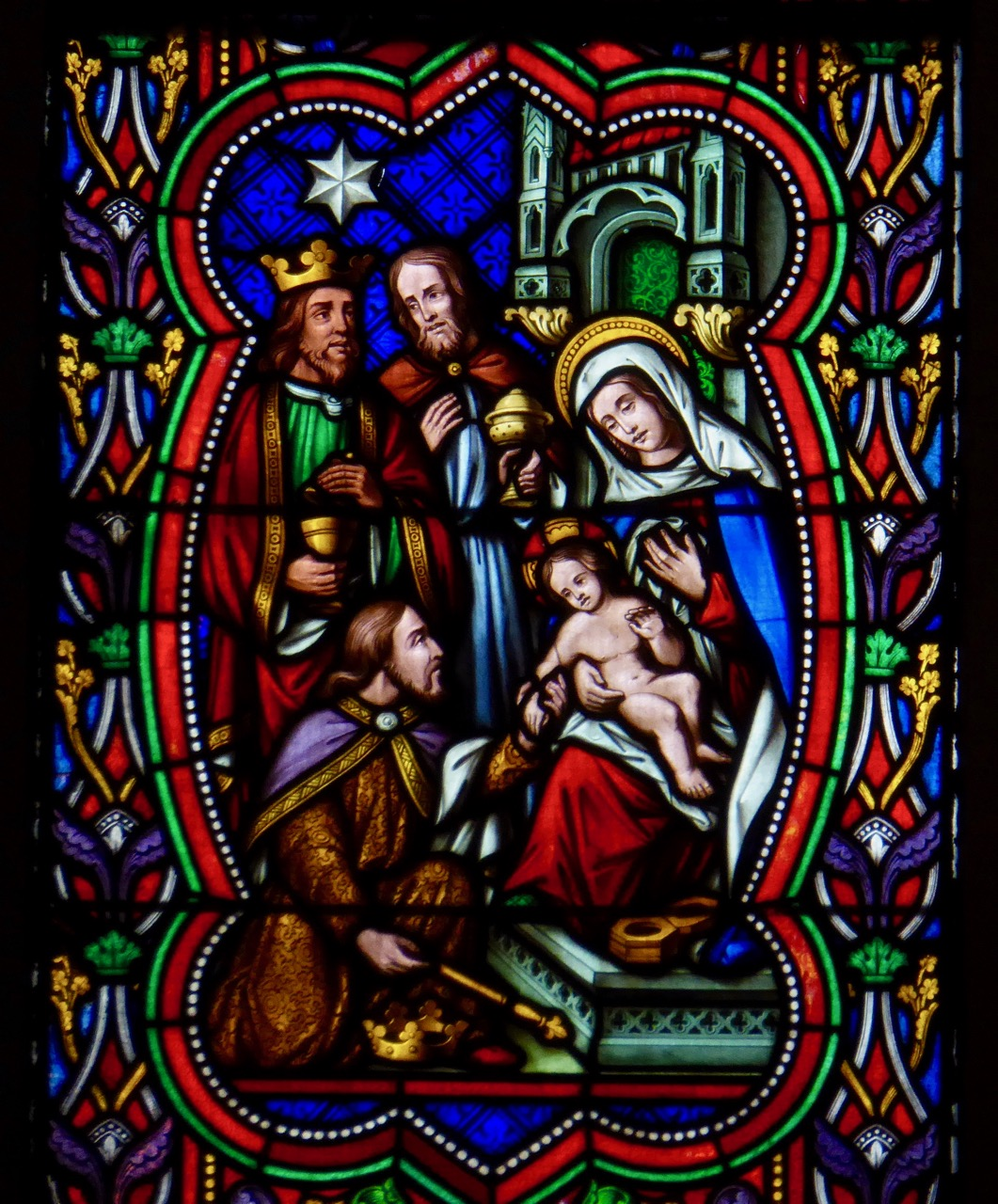 Holy Trinity Cork, East Window