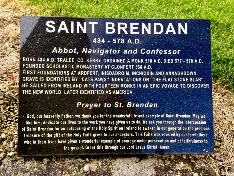 st brendan's grave inscription