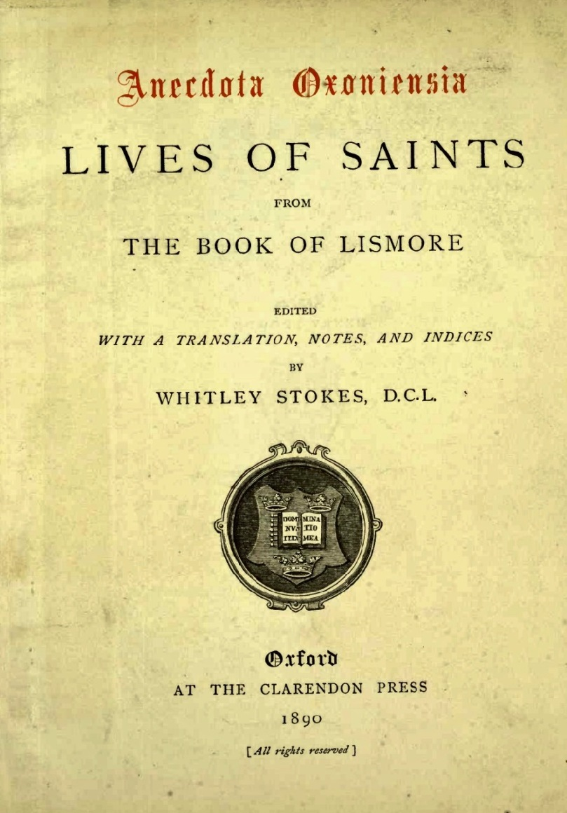 Book of Lismore