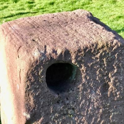 holed stone