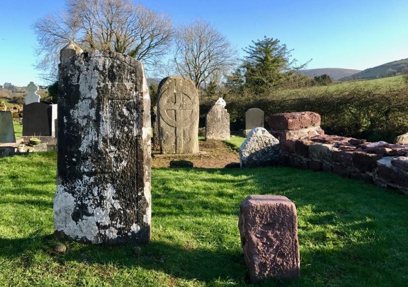stones in graveyard
