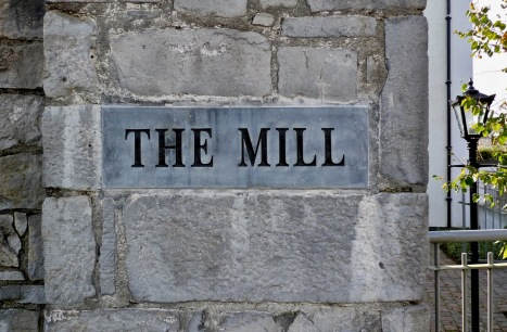 The Mill signage