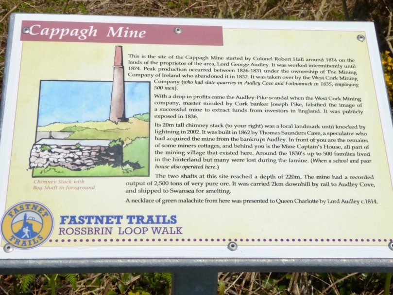 Fastnet Trail sign