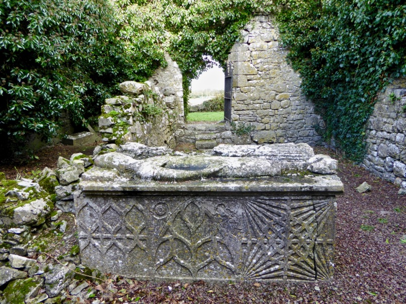 Grangefertagh effigy tomb
