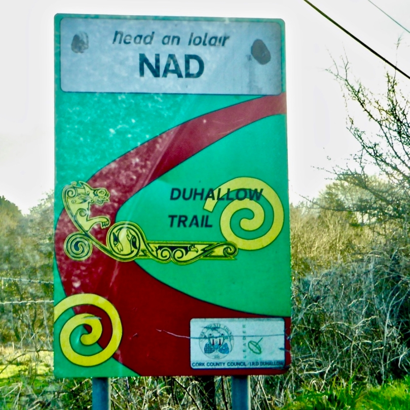 nad road sign