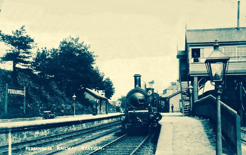 Perranwell Station 1950s