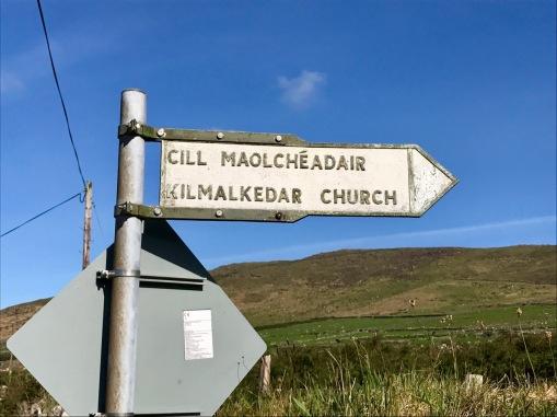 church signpost