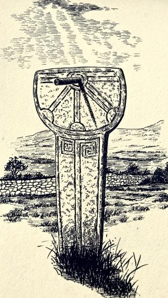 signboard sundial