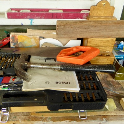 Hammer, saw and drill bits