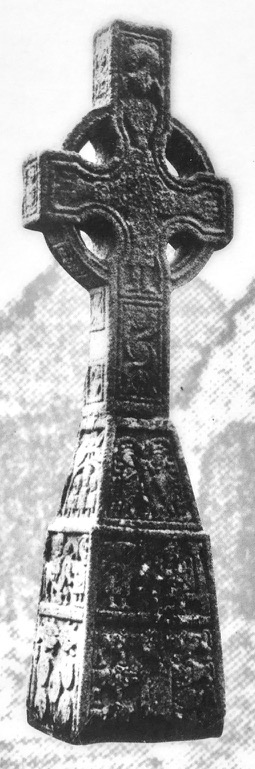 Moone cross old photo