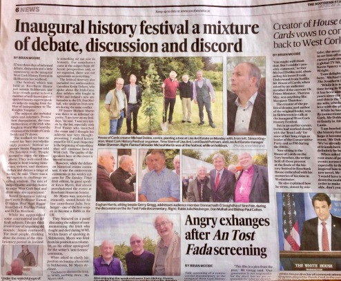 Southern Star coverage of History Festival