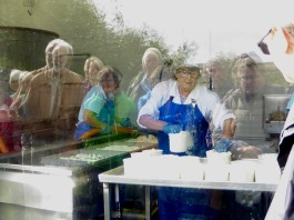 Durrus Cheese making
