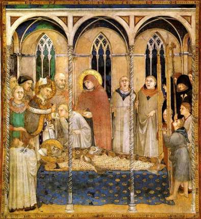 funeral of st m