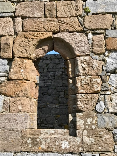 Arch window detail Ardfert