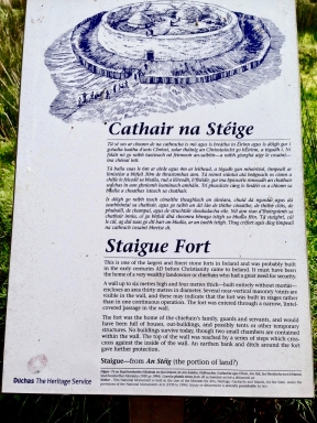 Staigue Fort Signage