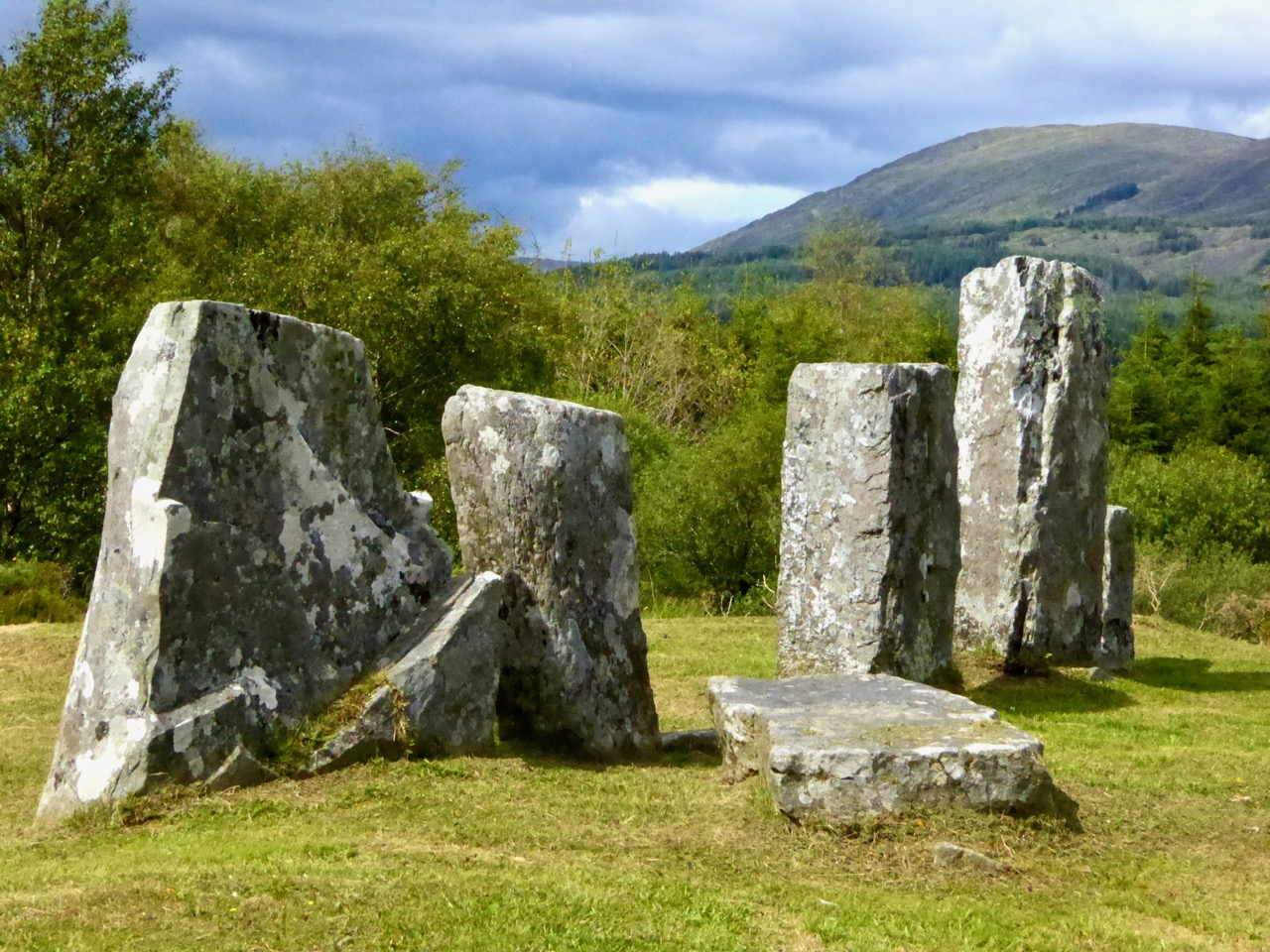 Image result for stone row